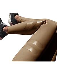 HARRYSTORE Mujeres pantalones elásticos y deportivos de yoga de alta cintura Leggings ajustados para mujer Fitness