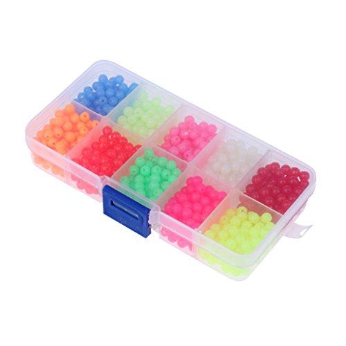 ELECTROPRIME Fishing Beads Lure Luminous Beads Sea Fishing Beads Fishing Beads Kit 1 Box
