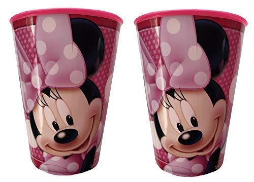 Disney Minnie Mouse Simple Paquet de 260ml PLASTIQUE Gobelets