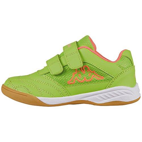 Kappa Kickoff, Baskets Basses Fille Vert (Green/fr.pink)
