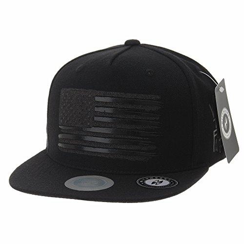WITHMOONS Casquette de Baseball Baseball Cap Star and Stripes American Flag Hat KR2305