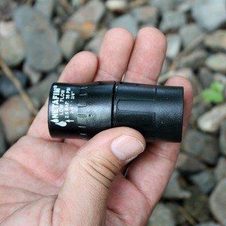 Druckregulator 2,5 bar - Einfache, robuste Ausführung für die Gartenbewässerung