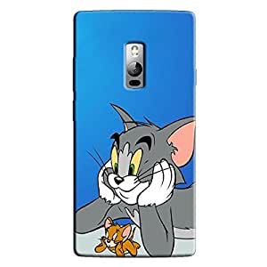 THINKING CARTOON BACK COVER FOR ONE PLUS TWO