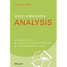 Wiley-Schnellkurs Analysis (Wiley Schnellkurs)
