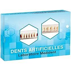 DENTS ARTIFICIELLES - HAUT ET BAS 12 DENTS pour appareils dentaires en résine