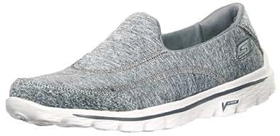 Skechers Women's Go Walk 2 - Circuit Grey Multisport Training Shoes - 4 UK/India (37 EU) (7 US)