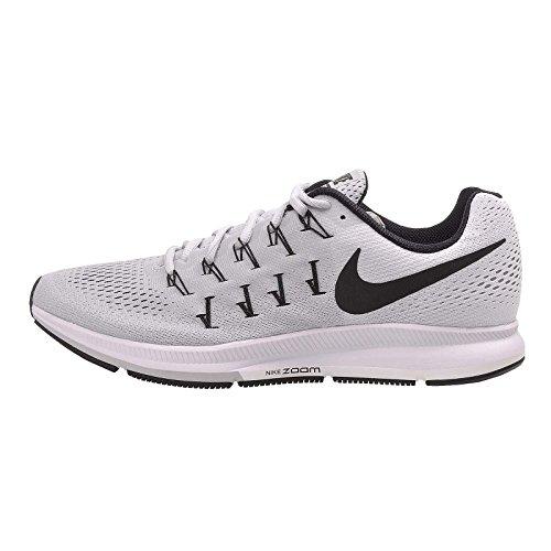 Nike Herren Air Zoom Pegasus 33 Tb Laufschuhe Plateado (Plateado (pure platinum/black-white))