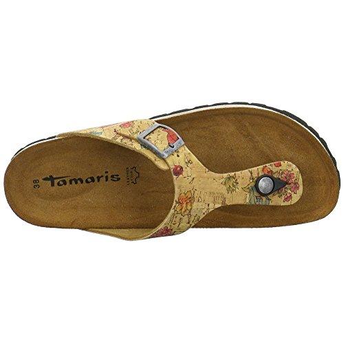 Tamaris 1-1-27514-38 483, Zoccoli donna Marrone