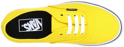 Vans U AUTHENTIC VSCQ80E Unisex-Erwachsene Sneaker Gelb (lemon chrome/bl)