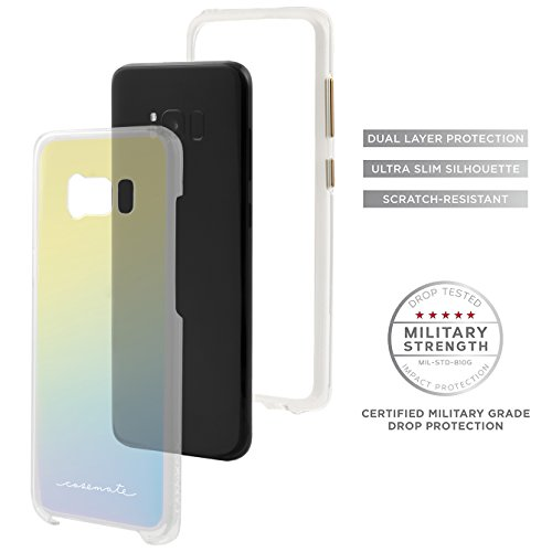 Case-mate CM031523 screen protector - screen protectors (Mobile phone/smartphone, Apple, iPhone 6 Plus, Polymer, 2 pc(s)) Iridescent