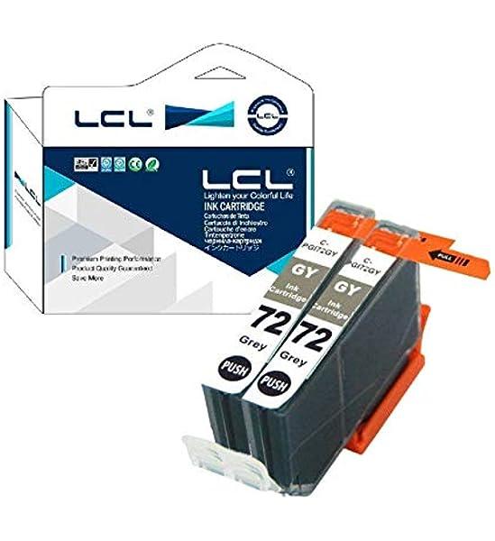Lcl Kompatibel Tintenpatrone Pgi 72 Pgi 72gy 2grau Ersatz Für Canon Pixma Pro 10 Pro 10s Bürobedarf Schreibwaren