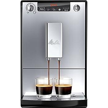 Melitta Caffeo Solo E950-103, Schlanker Kaffeevollautomat mit Vorbrühfunktion, Silber