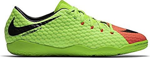Nike Herren Hypervenomx Phelon 3 Ic Fußballschuhe, Grün (Elctrc Green/Black-Hyper Orange-Volt), 43 EU