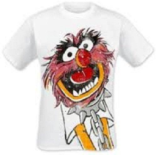 Muppets T-Shirt Metal Animal Größe S -