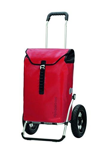 :Andersen Carro compra Royal bolsa Ortlieb roja, volumen