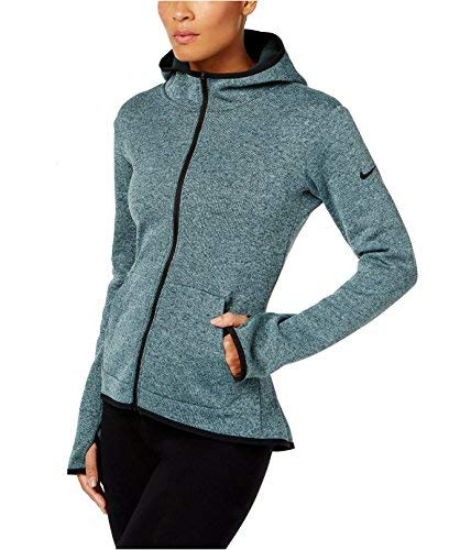 Nike Women's Hypernatural Therma Full Zip Training Hoodie, XL (Jacket Nike Fit Dri Womens)