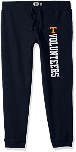 NCAA Damen OTS Fleece Hose, Damen, NCAA Women's OTS Fleece Pant, Fall Navy, Small -