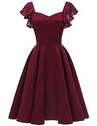 50b73119aa4b Suchergebnis auf Amazon.de für: aubergine - Kleider / Damen: Bekleidung