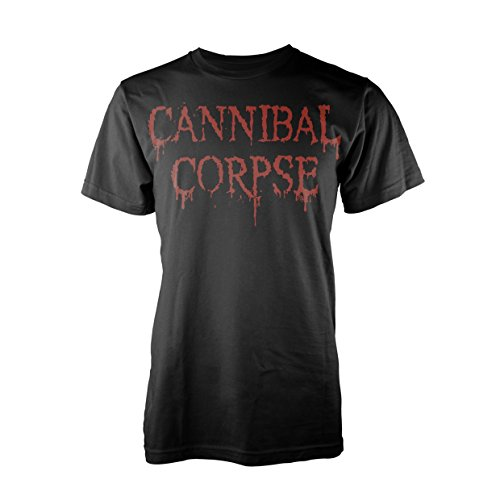 Cannibal Corpse Dripping Logo T-Shirt schwarz L (Cannibal Corpse-t-shirt)