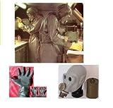 ABC Schutzanzug Strahlenschutzanzug NVA Gasmaske Fasching, Halloween
