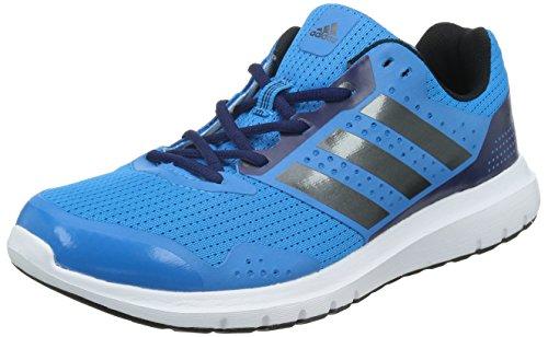 Adidas Duramo 7 M Scarpe da corsa, Uomo, Blu (Solar Blue/Night Met, Midnight Indigo F), 43 1/3 EU