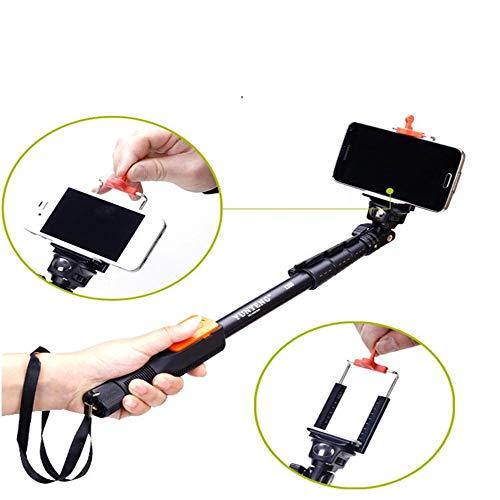 Ledu stick selfie, wireless bluetooth controller, ritrattabile frame selfie telefono attivabile, adatto per android, telefono ios, macchina fotografica, ecc