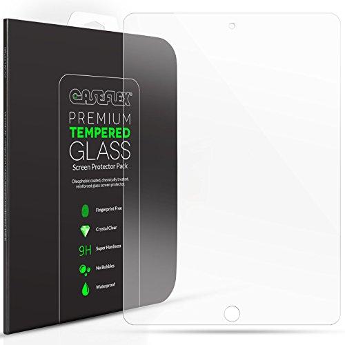 iPad Air / Air 2 Panzerglas Schutzfolie 0.2mm Dick 9h Härte Grad Retina Display Kompatibel von Caseflex