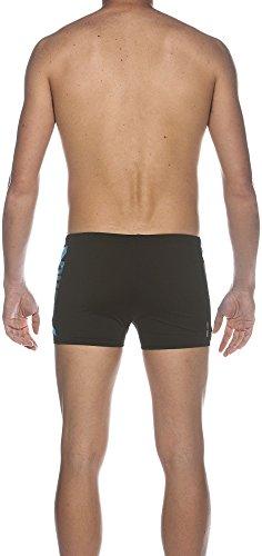 Arena Herren Badehose Clog Shorts black/Turquoise