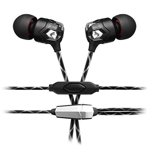 V-MODA Zn In-Ear-Kopfhörer mit 1-Button-Remote-Steuerung & Mikrofon für moderne Audiophile V-moda Vibe