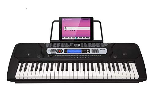 Rockjam Rj-654 Tastiera da Pianoforte Digitale Portatile a 54 Tasti con Leggio e Schermo LCD Interattivo [Regno Unito]