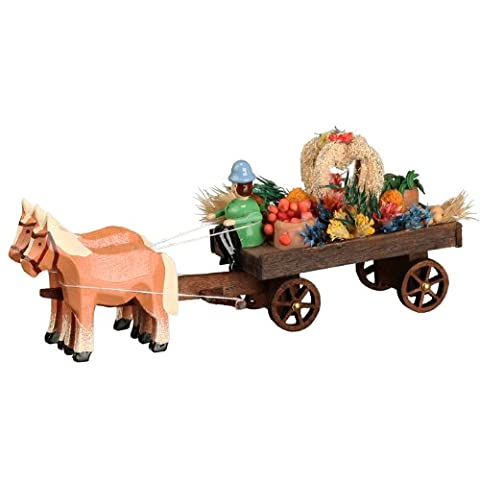 Horse and cart harvest thank car miniature horse-drawn vehicle horse