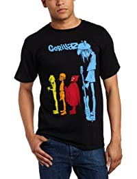 Gorillaz - Rock The House Adult T-shirt in Black