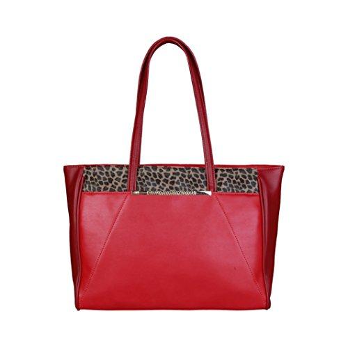 Cavalli Class - Sac porté épaule pour femme (C51PWCEM0072_060-RED) - Rouge