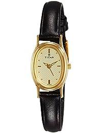 Titan Karishma Analog Gold Dial Women's Watch -NK2061YL02