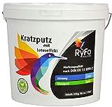 RyFo Colors Kratzputz mit Lotuseffekt 3mm 25kg