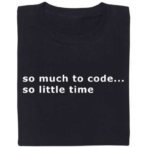 so much to code... - Geek Shirt für Computerfreaks aus fair gehandelter Bio-Baumwolle Schwarz