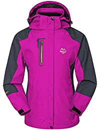 FastDirect Women Lightweight Hooded Windbreaker Active Outdoor Anorak Jacket B076WVF7V5
