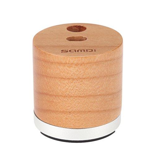 Ahorn Runde Tisch (SAMDI Holz Mini Ladegerät & Halter für Apple iPad Pro Bleistift Ladegerät Dock Stehen(Ahorn Farbe))