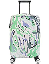 06003f2b8 SINOKAL Luggage Protector Cover Suitcase Cover Spandex Elastic Stretch  Fabric (Just Sell the Protector)