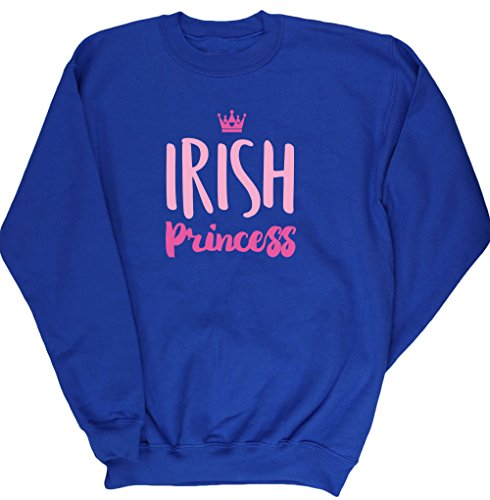 hippowarehouse-irish-princess-kids-unisex-jumper-sweatshirt-pullover
