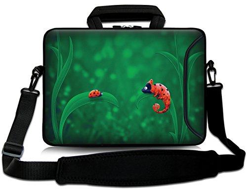 a64ff4531b34b8 Sidorenko - Borsa in Neoprene per notebook borsa a tracolla per PC portatili  Laptop Sleeve Case 15-15.6 Pollici/MacBook Air/MacBook Pro con manici e ...