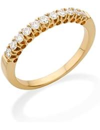 Miore MC225Y Memoire - Diamantring 18 Karat (750) Gelbgold mit 11 Brillanten zus.0,35Ct - IGI Zertifikat