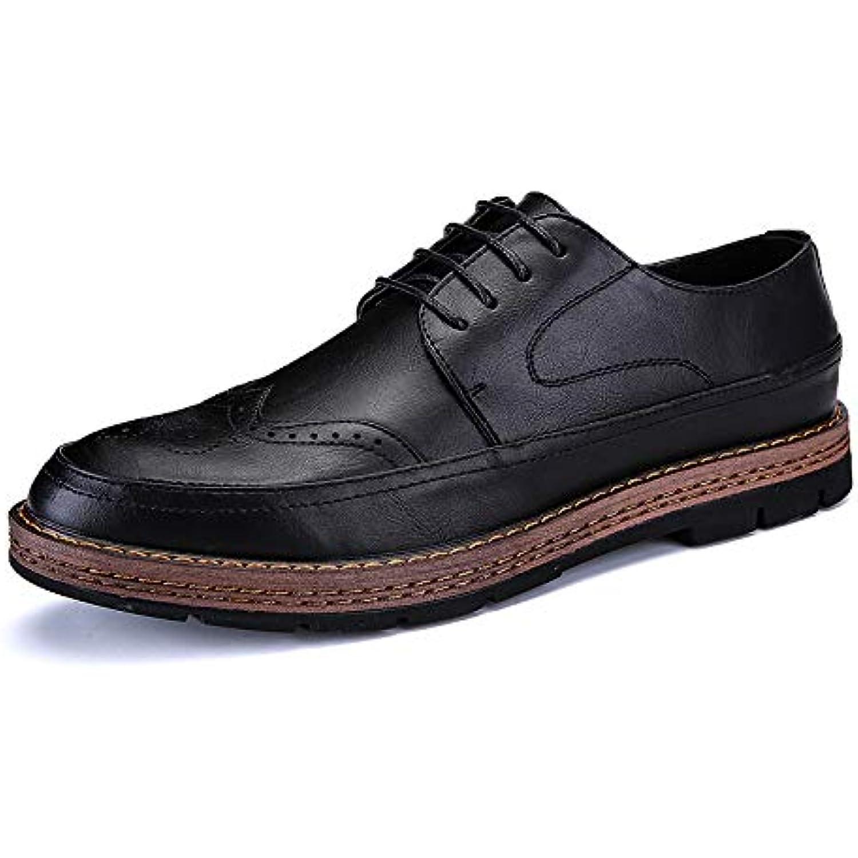 HYLDL HYLDL HYLDL Chaussure Homme Cuir Gravure Vintage Confortable élégante Chaussures en Cuir - B07JL6G5T3 - 5e9008