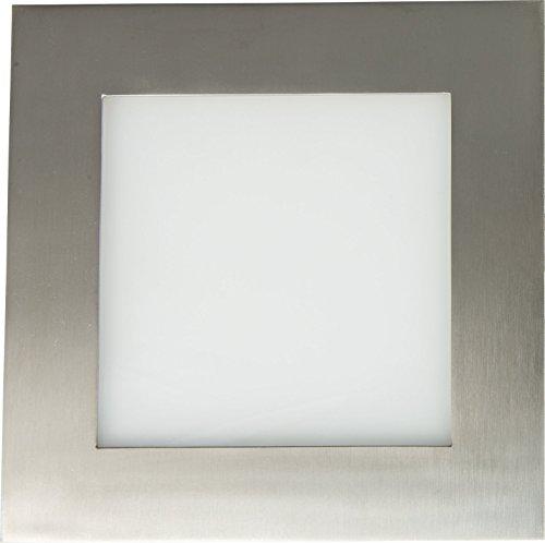 Preisvergleich Produktbild Heitronic LED-Panel Warm-Weiß,  Neutral-Weiß,  Tageslicht-Weiß 27794 Edelstahl