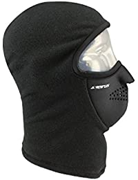 Sierus Innovation Polartec Combo Clava Face Mask for Complete Head Neck and Face Protection - 4 Way Stretch TOP SELLER