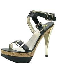 1TO3 - Sandale avec bride au talon