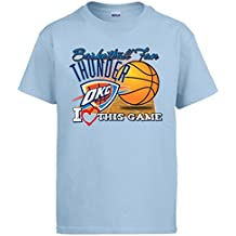 Camiseta NBA Oklahoma City Thunder Baloncesto Basketball Fan I Love This Game