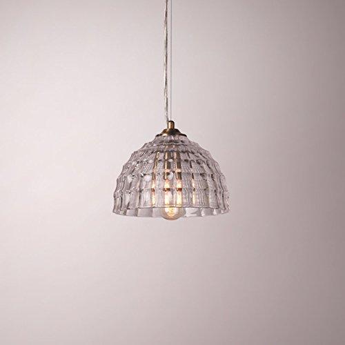 $Beleuchtung Industrielle moderne Vintage Edison-Leuchter-Zusatz-Leuchter-Deckenleuchte-Leuchte-klare Kugel-Glasschatten-Dachboden-Stab-Küchen-Schlafzimmer Innenleuchten ( stil : D )
