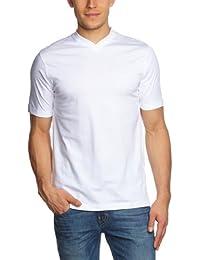 CASAMODA Herren T-Shirt 2 er Pack Comfort Fit 092183/0