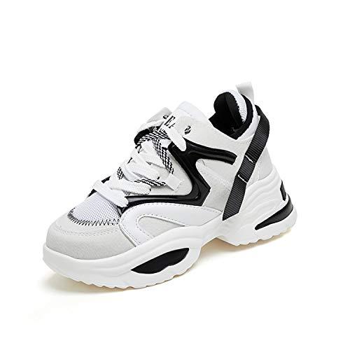 Men Platform Comfortable Sneakers Women Height Increasing Casual Shoes Men's Chunky Soft Walking Footwear Beige 8 Womens Pac Boots